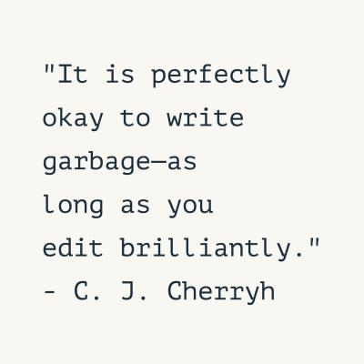 editing quote