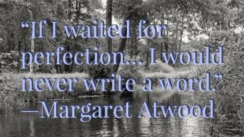 atwood writing qutoe
