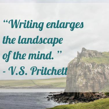 writing enlarges