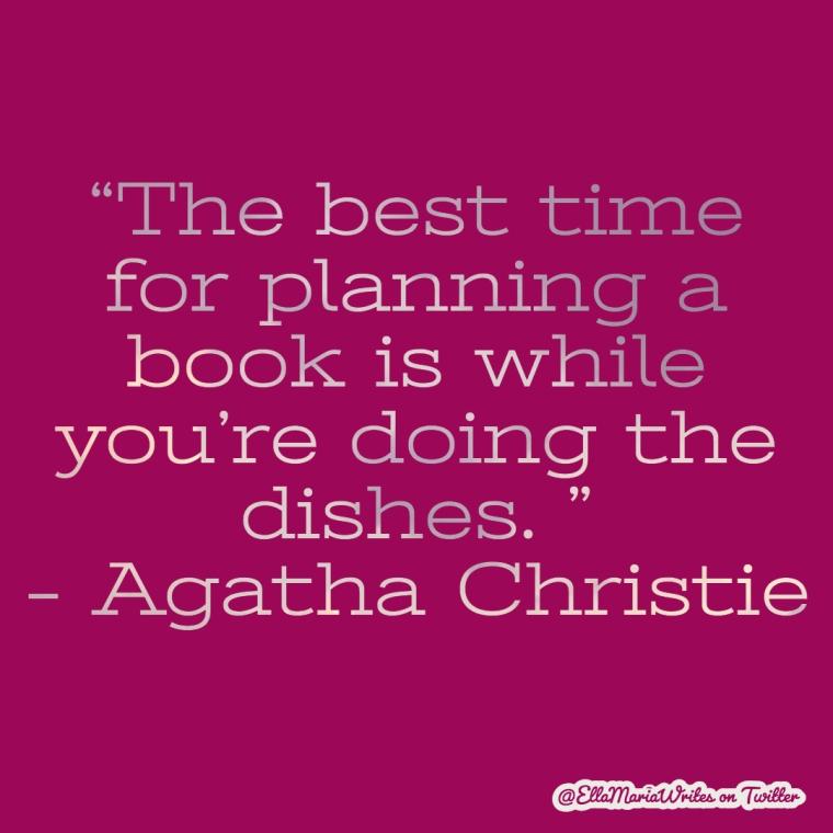 agatha christie book - quote - ella