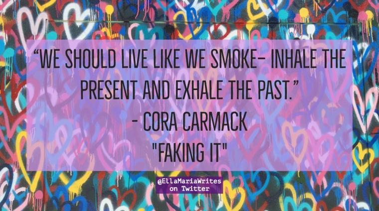 faking it quote - ella