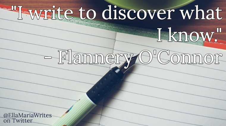 flannery quote - ella