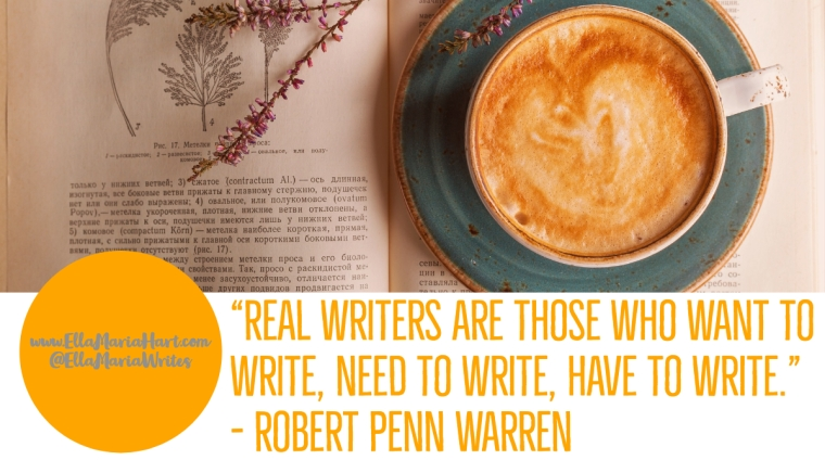 real writers - quote - ella