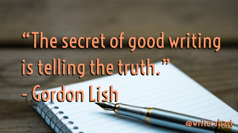 secret of writing